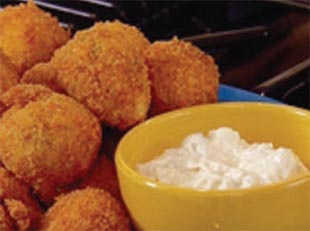 Ott's Buffalo Chicken Cheese Balls