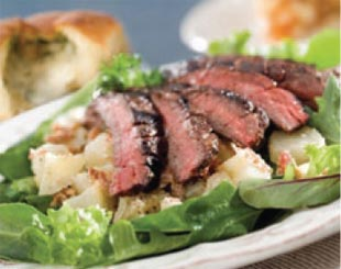 Ott's Famous Steak and Potato Salad