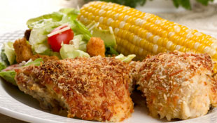 Famous Crusted Baked Chicken