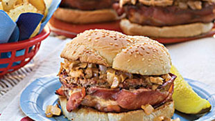 Ott's Barbecued Hamburgers