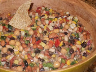 Ott's First Prize Bean Salsa