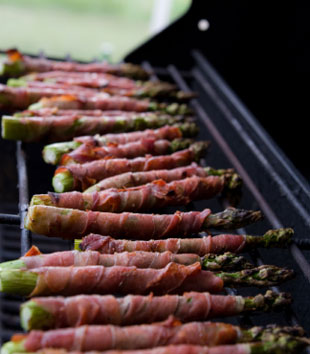 Ott's Famous Bacon Wrapped Asparagus
