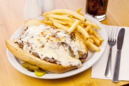 Ott's Buffalo Cheese Steak