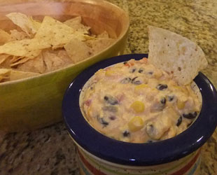 Ott's Southwest Buffalo Chicken Dip