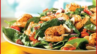 Low Calorie Sauteed Shrimp Salad