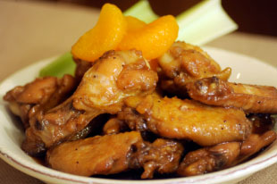 Ott's Caramelized Wings